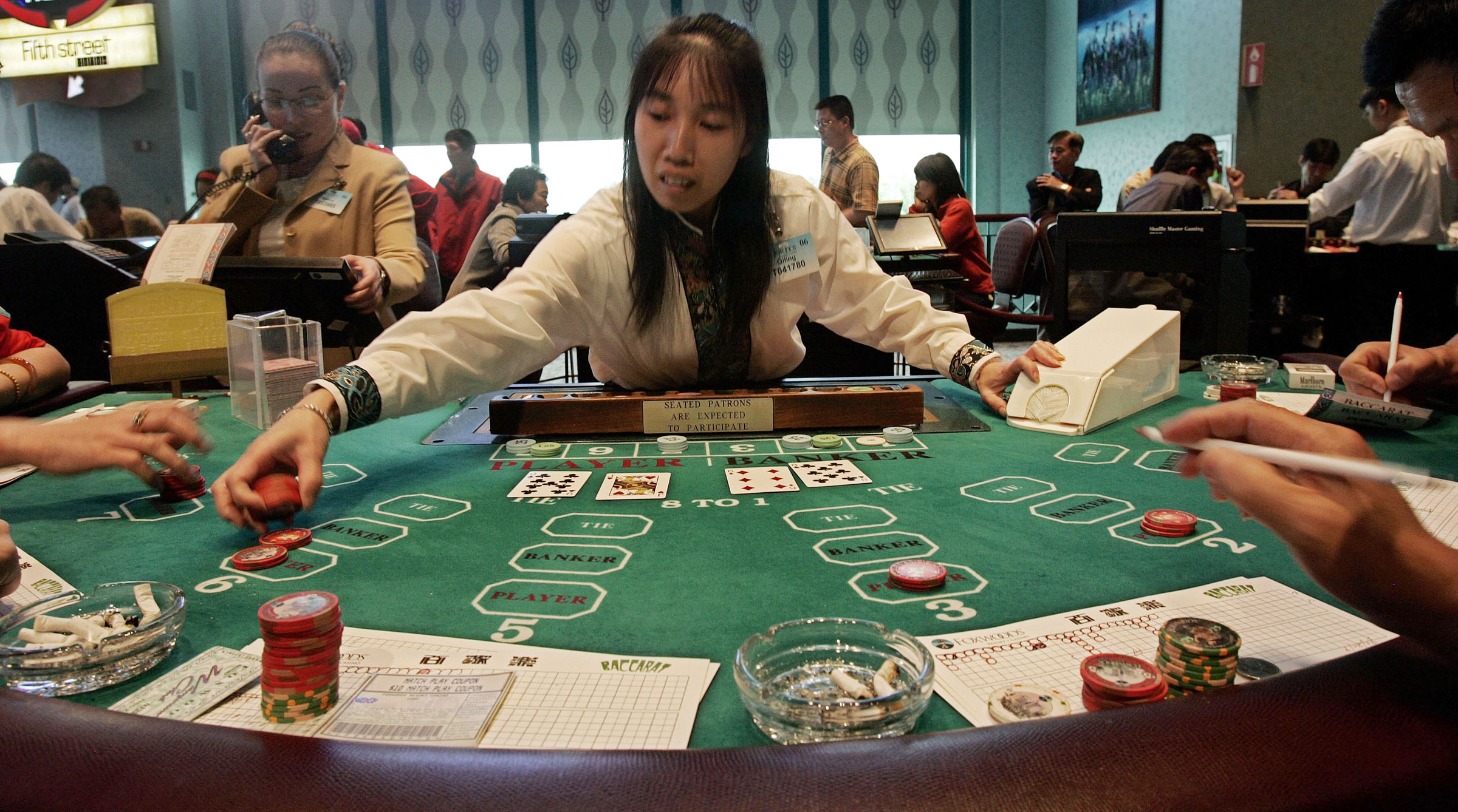 Smart cards do play a major role in casino gaming